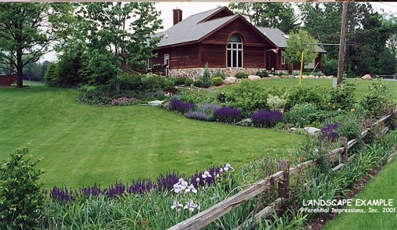 Custom garden designs about country gardens for Country garden ideas